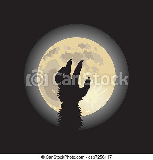 Halloween background - csp7256117