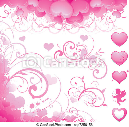 Valentine's day item - csp7256156