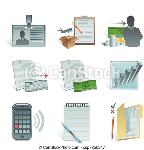 Accounting icon - csp7256347