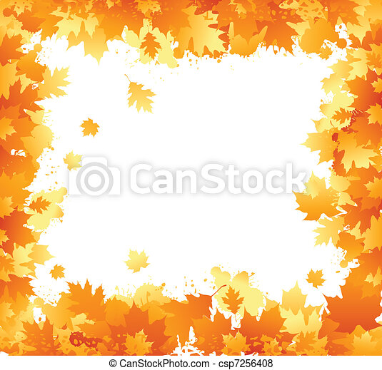 Autumn frame - csp7256408