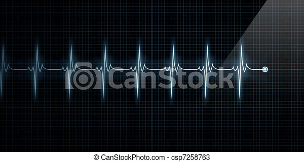 Heart Monitor - csp7258763