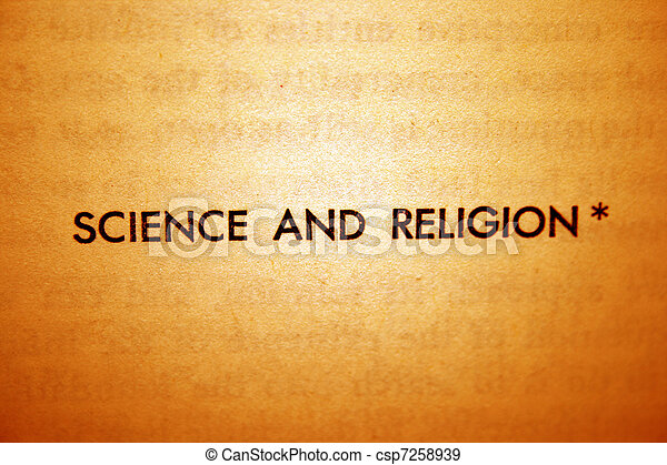Science and religion - csp7258939