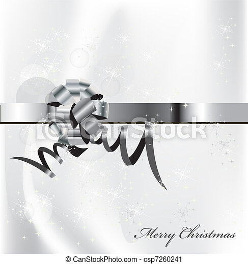 eps 10 silver background - csp7260241