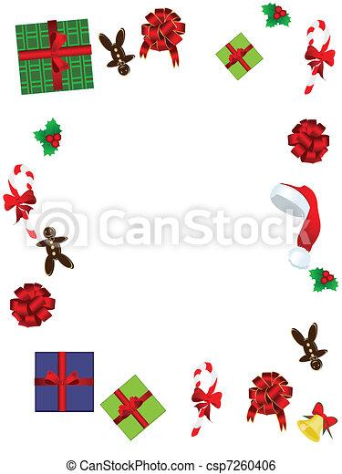 clip art vektor von rahmen weihnachten weihnachten. Black Bedroom Furniture Sets. Home Design Ideas