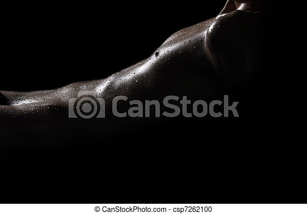 Men's chest and abdomen - csp7262100