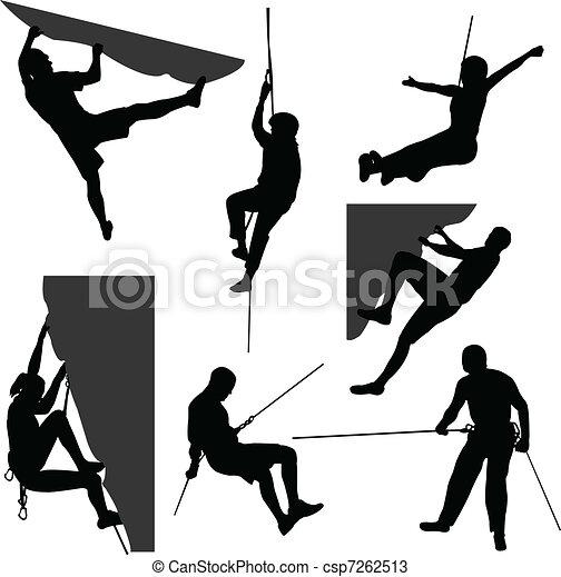 Rock climbing - csp7262513