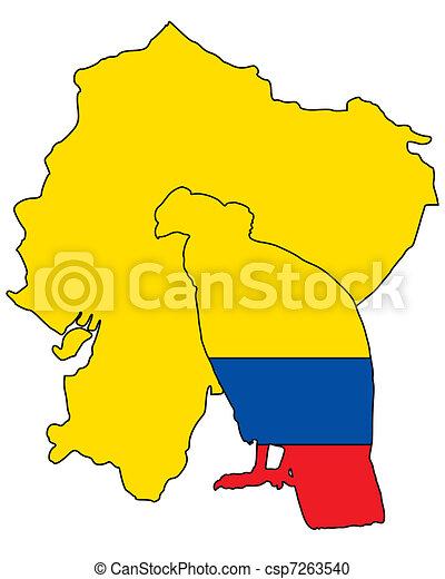 Vector Clipart of Andean Condor Ecuador csp7263540 ...