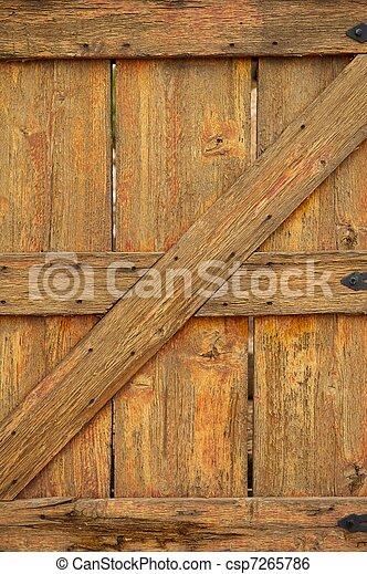 Image de vieilli port bois portail a port vieilli for Peinture porte bois effet vieilli