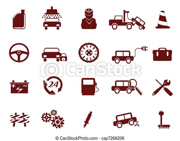 Auto Car Service Icon - csp7266206