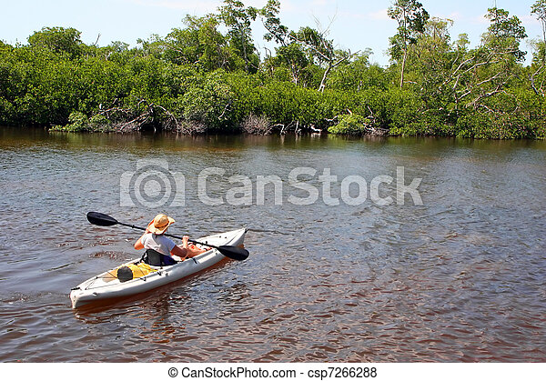 Kayaking - csp7266288