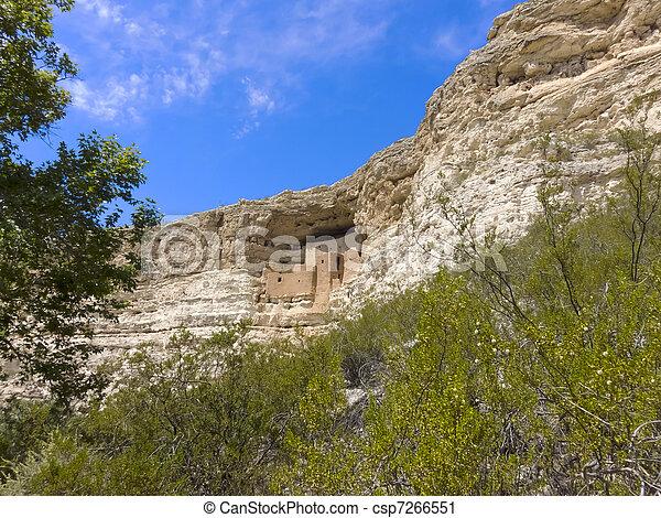 Montezuma Castle - csp7266551