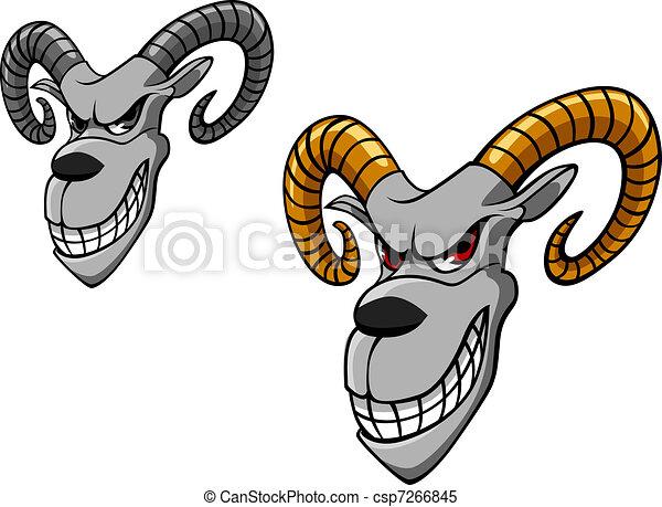 Wild goat - csp7266845