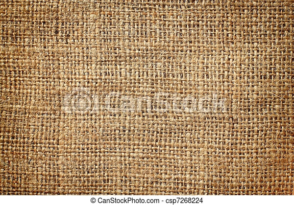 background of burlap hessian sacking - csp7268224