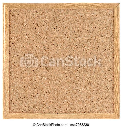 square cork board - csp7268230