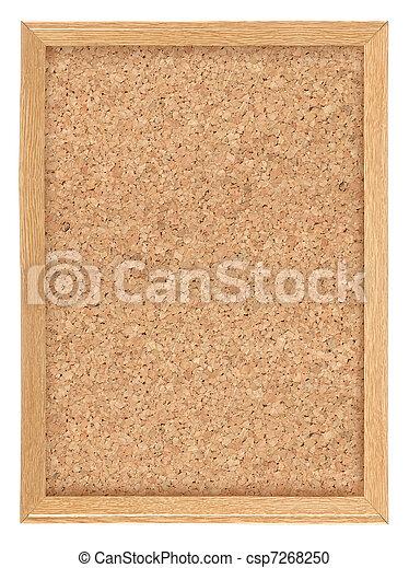 Cork board - csp7268250