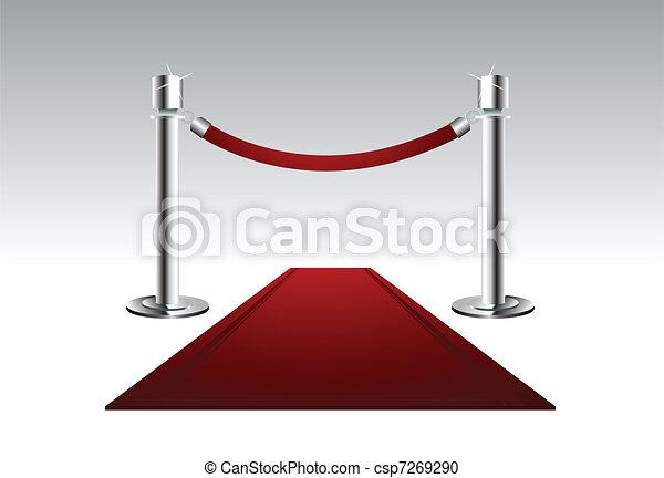 Red Carpet - csp7269290