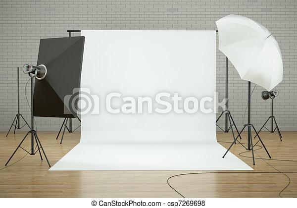 Photo studio - csp7269698