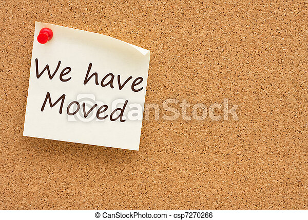 We have moved - csp7270266