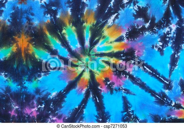Blue Dye 1 Blue Tie Dye Pattern Blue