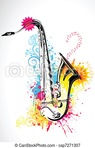 Saxophone - csp7271307