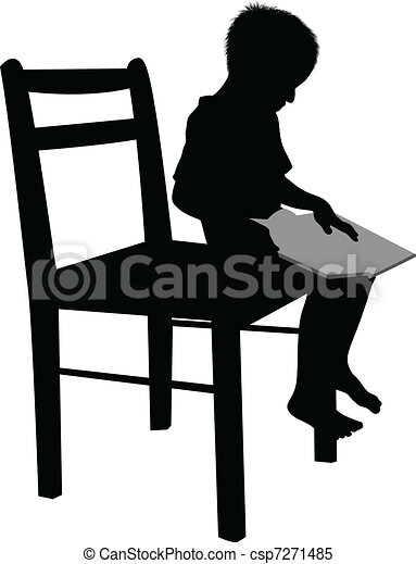 Child reading  - csp7271485