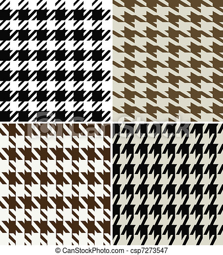 houndstooth fabric design - csp7273547