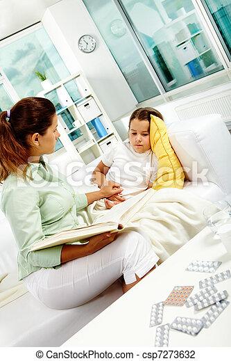 During illness - csp7273632