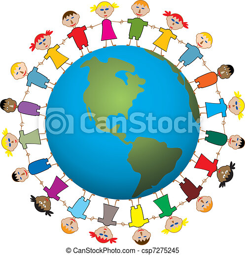 children around the world - csp7275245