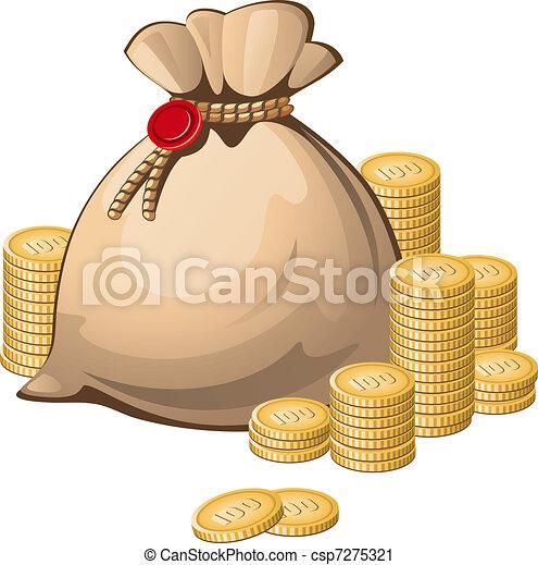 Money bag - csp7275321