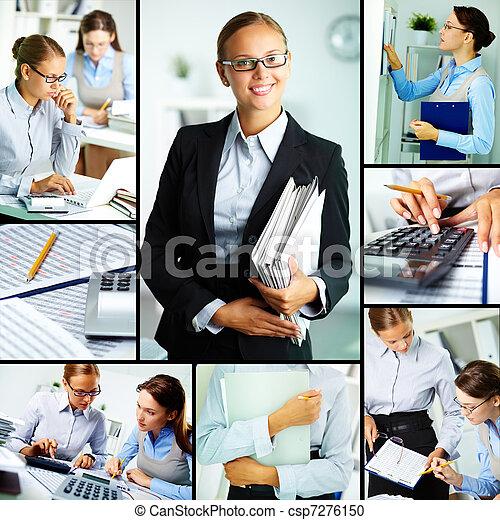 Women at work - csp7276150