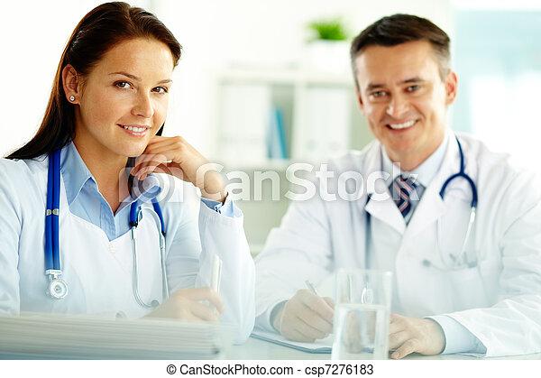 Medical specialists - csp7276183