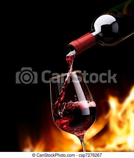 art wine list - csp7276267