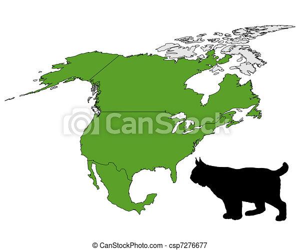 Lynx range map - csp7276677
