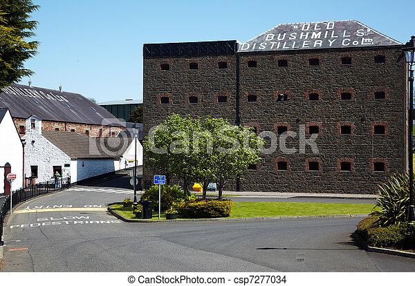 Old Bushmills Distillery - csp7277034