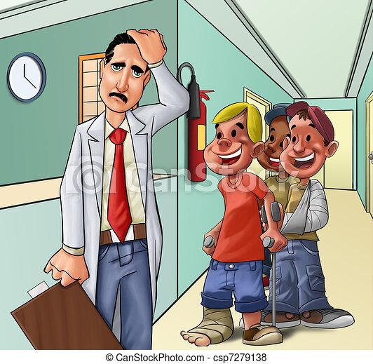 The hospital - csp7279138