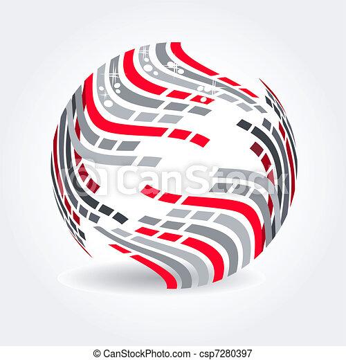 Abstract symbol  - csp7280397