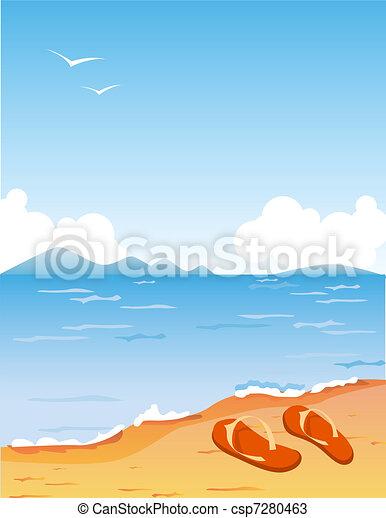 Tropic beach - csp7280463