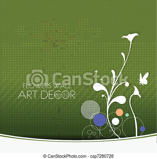 abstract flora background - csp7280728