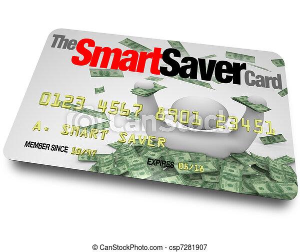 Credit Card - Smart Saver Discount Savings Pass - csp7281907