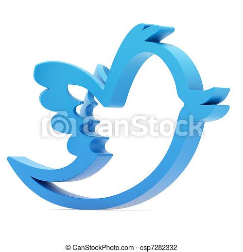 Blue bird - csp7282332