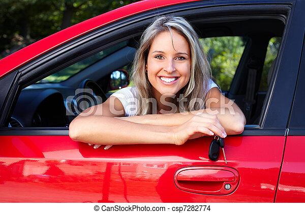 Auto, familie - csp7282774