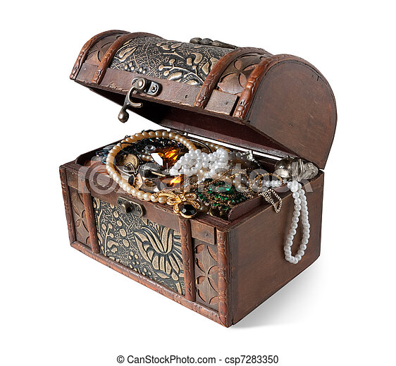 treasure chest  - csp7283350