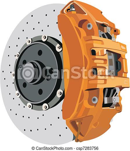 Brake disc - csp7283756
