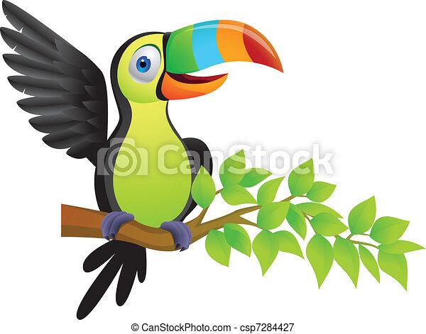 Toucan bird - csp7284427