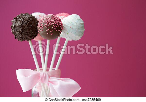 Cake pops - csp7285469