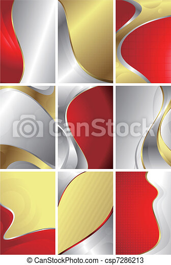 Abstract Curve Background - csp7286213