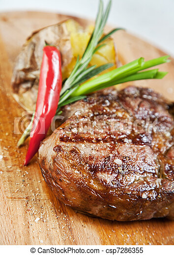 Grilled meat  - csp7286355