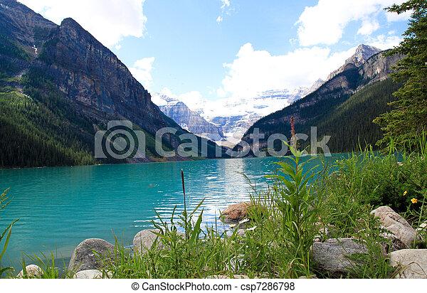 Colorful Lake Louise - csp7286798