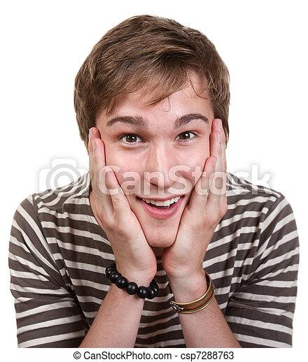 Thrilled Teen - csp7288763