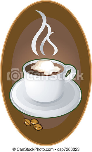 Coffee logo emblem - csp7288823